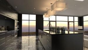 ballina joinery - kitchens - modern black