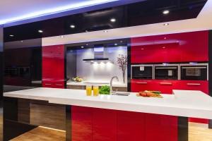 ballina joinery kitchens - modern colour