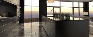 ballina joinery - kitchens modern dark